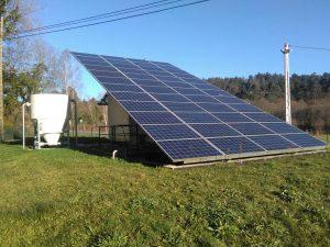 El uso de energías limpias contribuye a disminuir los impactos ambientales de la actividad humana