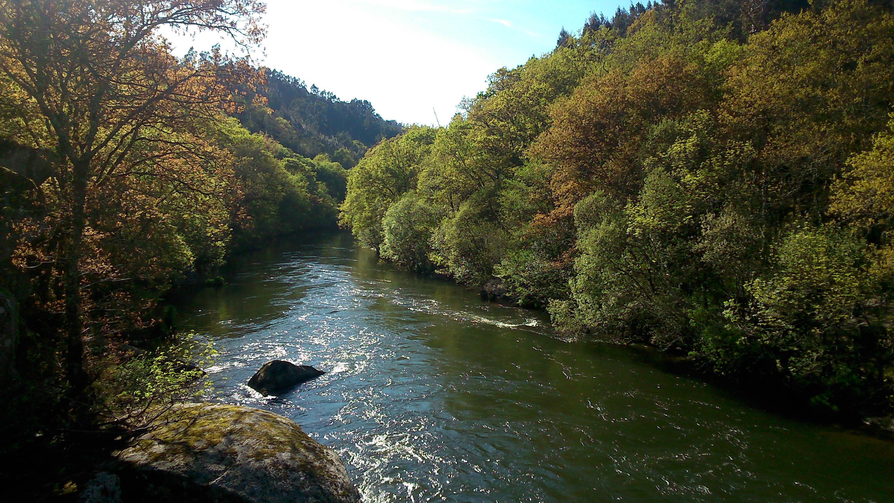 Río Tambre: el agua, un recurso básico.